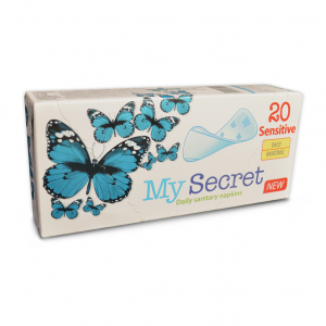 Everyday napkins - Sensitive – For sensitive skin